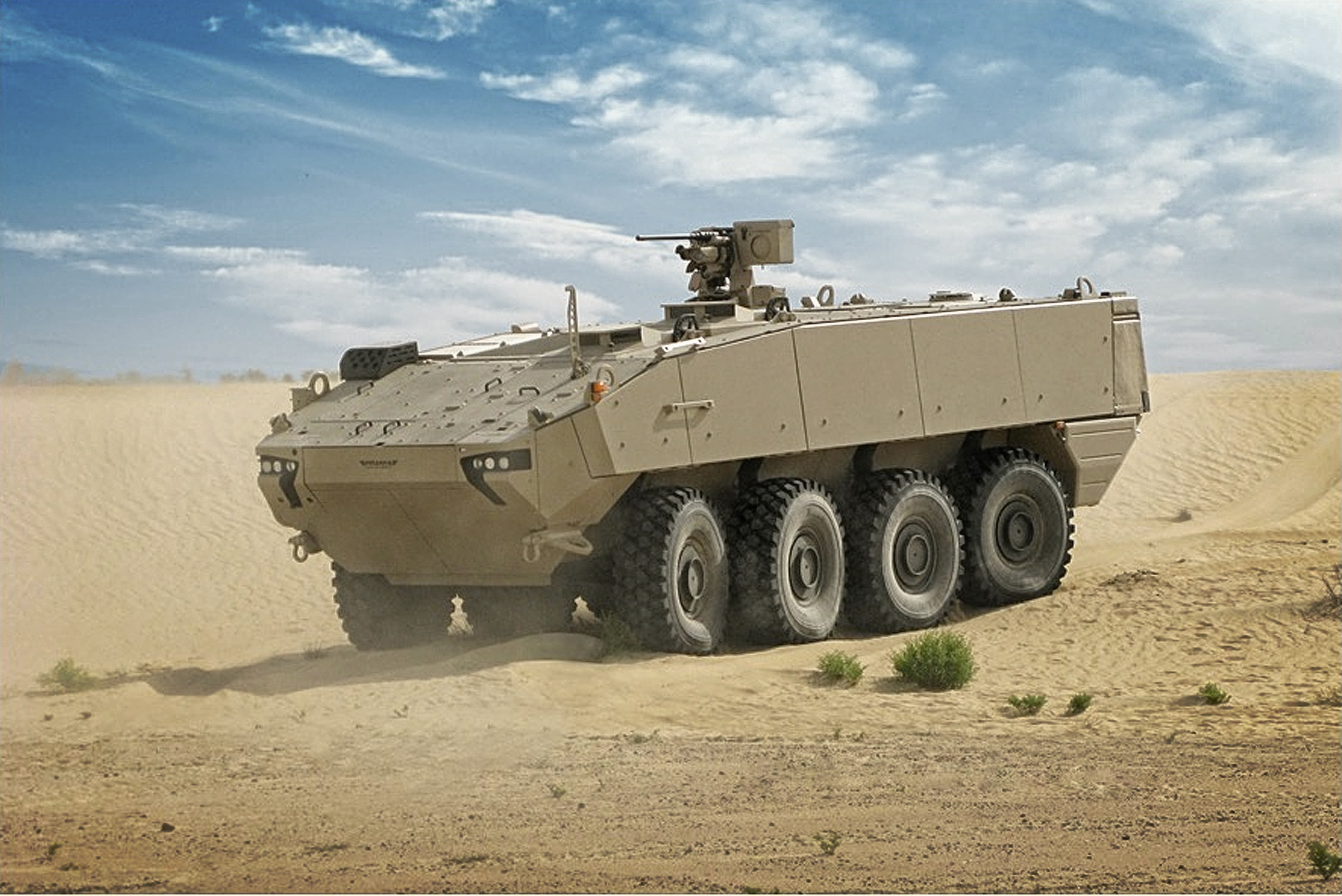 Danish Army Receives First Piranha 5 And Eagle 5 Wheeled Armored Vehicles